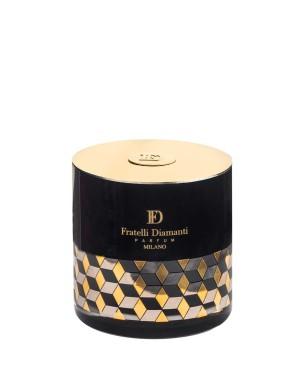 FD Black Vanilla Scented Candle