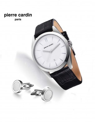 Pierre Cardin Watch & Cufflink Set
