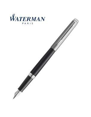 Waterman Hemisphere Sandblasted Steel Matte Black CT Fountain Pen