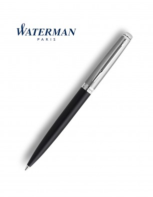Waterman Hemisphere Essential Metallic Ballpoint Pen Black CT