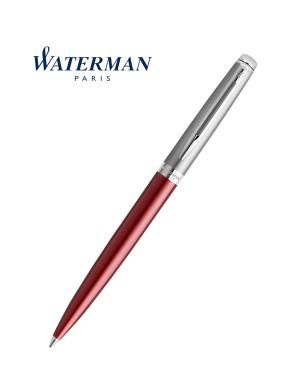 Waterman Hemisphere Essential Metallic Ballpoint Pen Red