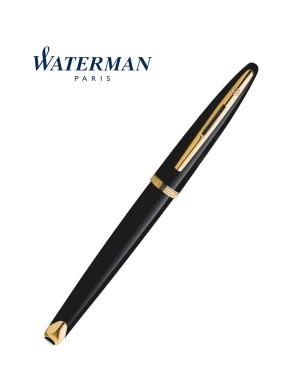 WATERMAN CARENE BLACK SEA GOLD TRIM ROLLERBALL PEN
