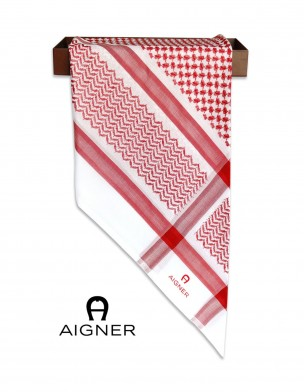Aigner Red Shmagh