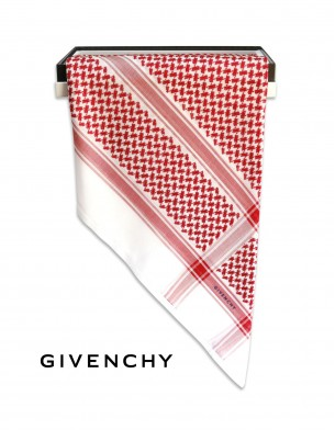 GIVENCHY Red Shemagh