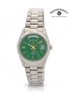 WEST END Classic SAUDI ARABIA Limited Edition 37 mm Automatic Watch